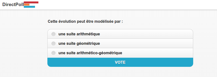Interface étudiant