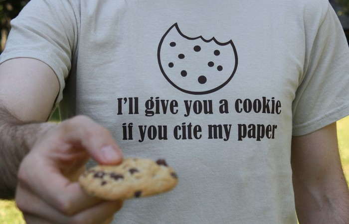 I'll give you a cookie if you cite my paper